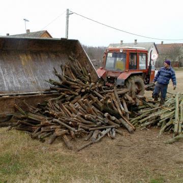 Nem emelik a szociális tűzifa árát