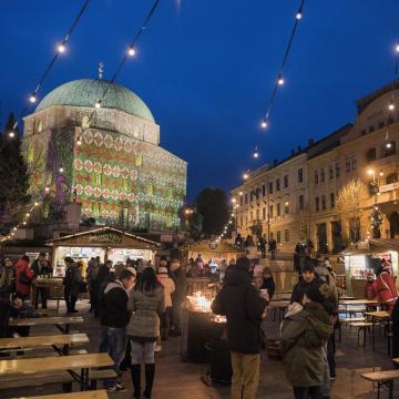 Százötven programmal készül a karácsonyra Pécs