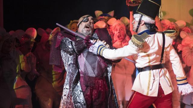 A Diótörő musical feldolgozását mutatják be a Syma Csarnokban