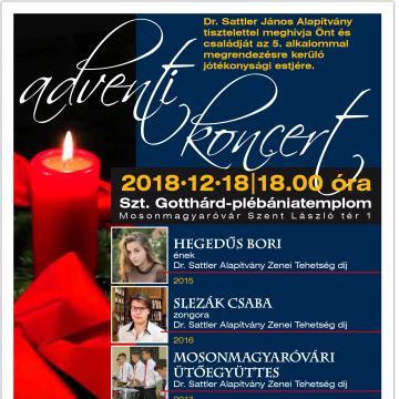 Adományokat is gyűjtenek az adventi koncerten
