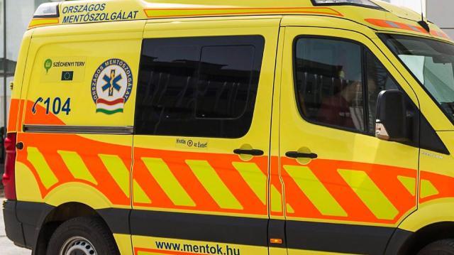 Házfalnak és villanyoszlopnak csapódott egy busz Szigetváron