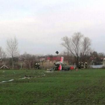 Lezuhant egy kisrepülőgép Sárvár közelében