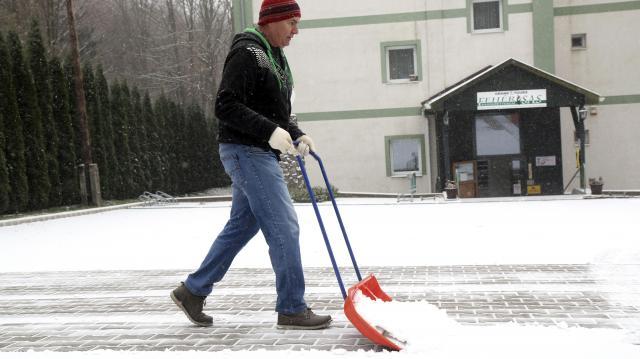 Megmaradnak a mínuszok az első téli hétvégén
