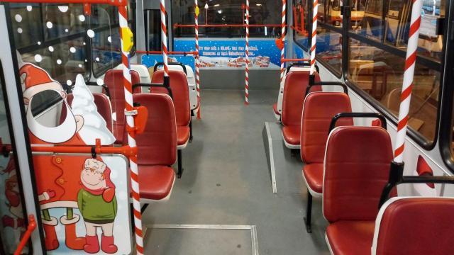 Mikulásbuszok indulnak a 7-es vonalán december 6-tól karácsonyig