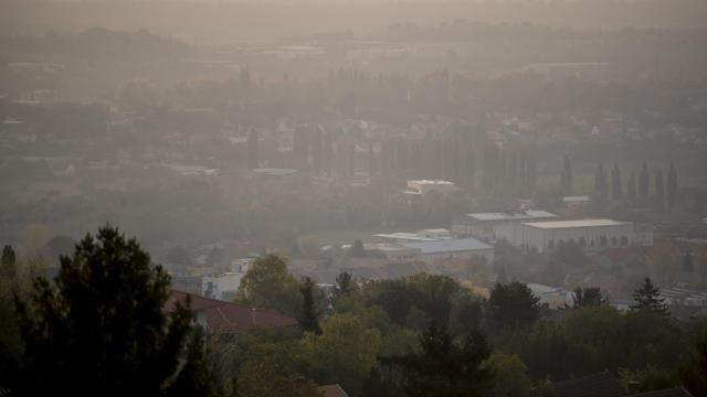 Országszerte javult a levegő minősége