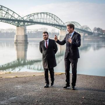 Schanda Tamás Esztergomban: Magyarország jól sáfárkodik az uniós pénzekkel