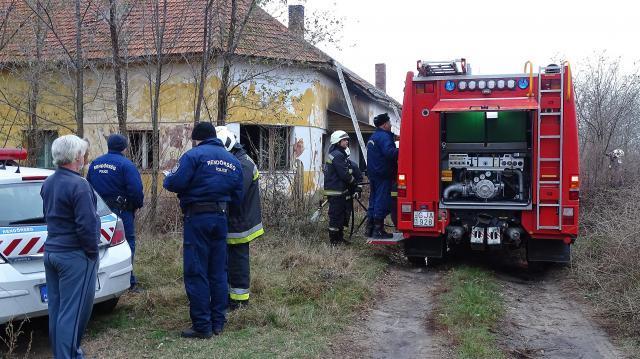 Tűzesetben meghalt egy férfi egy tiszaalpári tanyán