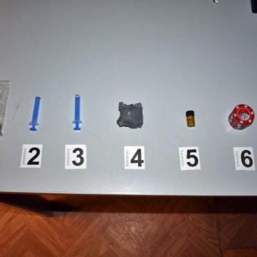 Ülés alól került elő többféle drog