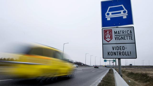 Érdemes online megvásárolni az autópálya-matricát