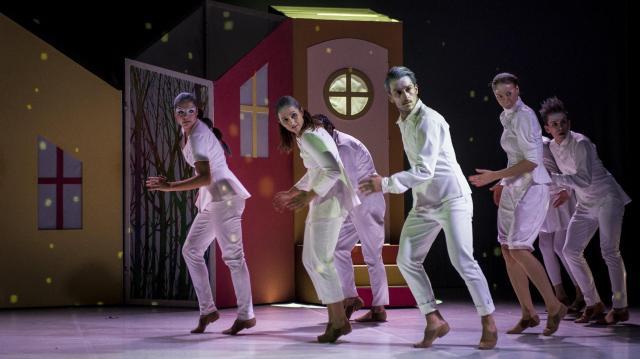 Fellép a Kecskemét City Balett és az Esszencia Zenekar a Várkert Bazárban