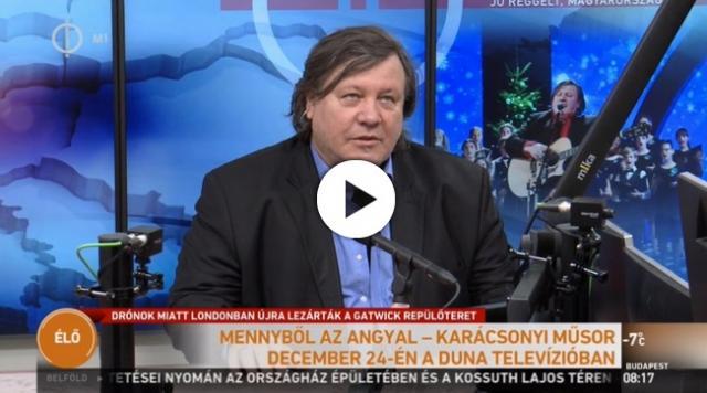 Karácsonyi műsorral készül a Duna Televízió december 24-én - VIDEÓVAL