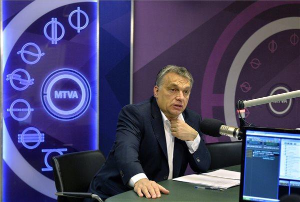Orbán Viktor: Magyarország megindult felfelé