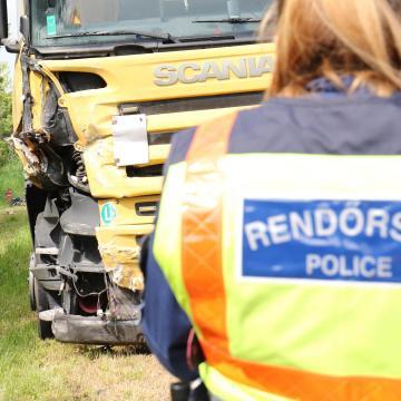 Kamion gázolt halálra egy gyalogost Debrecennél