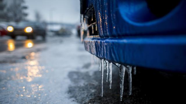 Többször várható hó és ónos eső a héten