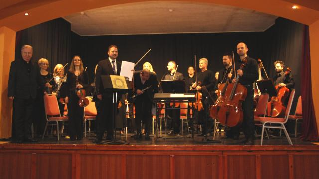 Újévi koncerttel örvendeztették meg a komáromiakat