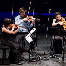 A Central European String Quartet bemutatója az Óbudai Társaskörben