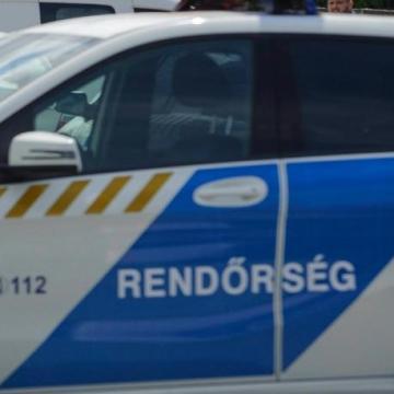 Bedrogozott autóst kaptak el a soproni rendőrök