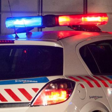 Rendőri intézkedés közben meghalt egy férfi Táton