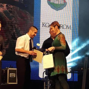 Elismerte legkiválóbb sportolóit Komárom
