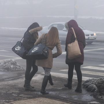Északkeleten továbbra is rossz a levegő