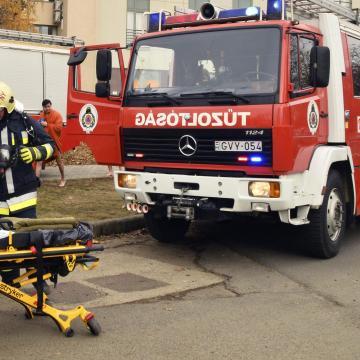 Halálos áldozat - Tűz volt egy ferencvárosi kollégium épületében