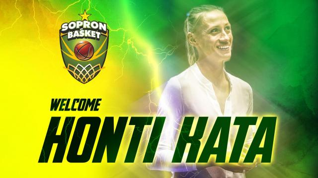 Honti Kata segít a Sopron Basketnek