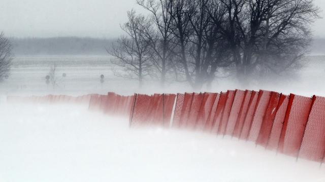 Lezártak egy utat hóátfúvás miatt, elzárt település nincs az országban