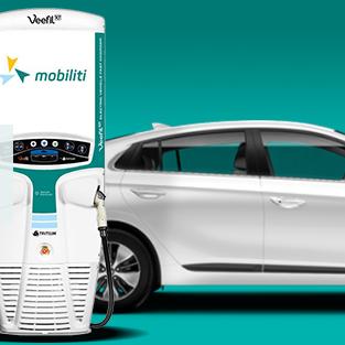 Országos hálózat épül - Ingyen autótöltés okostelefonról a Mobiliti applikációjával