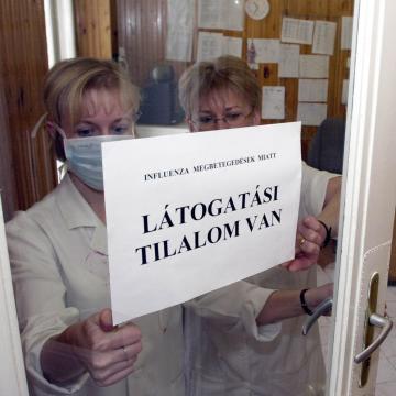 Tilos a látogatás a kaposvári kórház több osztályán
