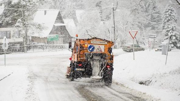 Többfelé is havasak a főutak