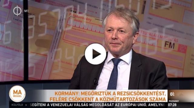 Felére csökkent a magyar lakosság közműtartozása - VIDEÓ