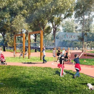 Hét új játszótér kap helyet a megújuló Városligetben