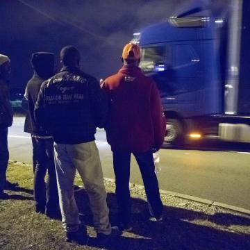 Két illegális migráns Csongrád megyében