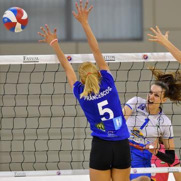 Női röplabda Extraliga - Negyedszer is legyőzte a bajnok Békéscsabát a Nyíregyháza