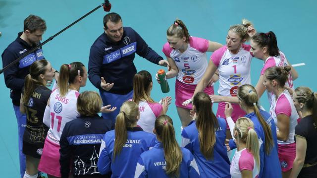 Női röplabda CEV Kupa - Négy között a Békéscsaba