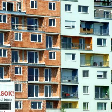 Csaknem 18 ezer lakás épült tavaly
