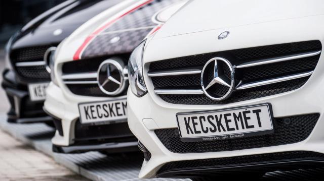 Elkezdte az új CLA Coupé gyártását a Mercedes Kecskeméten