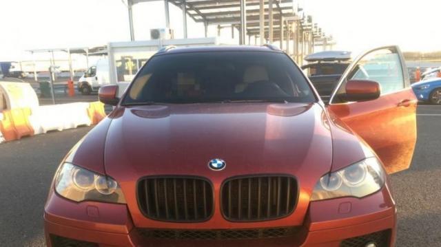 Körözött BMW Csanádpalotánál
