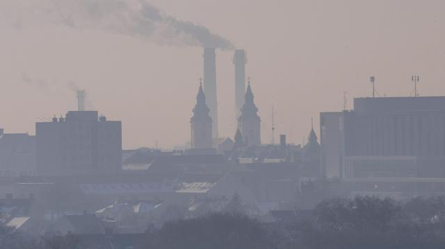 Magas a szálló por légköri koncentrációja Debrecenben