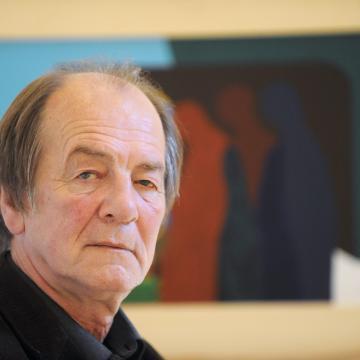 Aknay János életmű-kiállítása a szegedi Reök-palotában