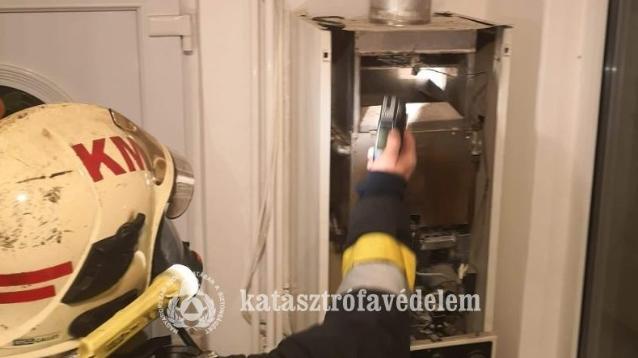Életet mentett a szén-monoxid-érzékelő Sopronban