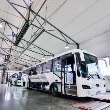 Három éven belül megduplázná termelését a magyar buszgyártás