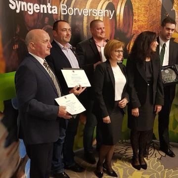 Kihirdették az idei Syngenta Borverseny győzteseit