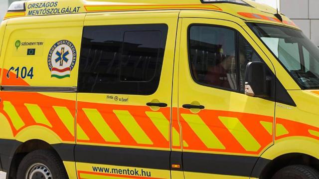 Súlyosan megsérült egy biciklis