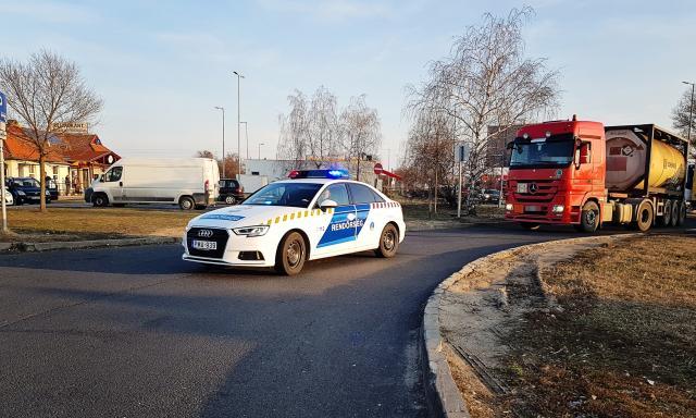 Több mint 500 közt ittas kamionost is elkaptak a rendőrök