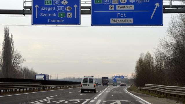 Új forgalmi rend lép életbe az M0-s autóúton