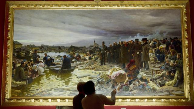 A nagyárvíz festményeiből nyílik kiállítás a Fekete házban