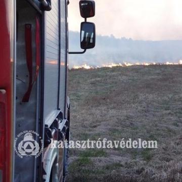 Február közepe óta mintegy 2000 szabadtéri tűzhöz riasztották a tűzoltókat