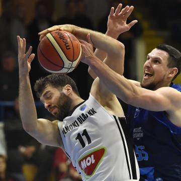 Férfi kosárlabda NB I - Otthon győzött a Szolnok