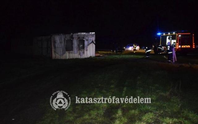 Ketten meghaltak lakástűzben Alsószentmártonon